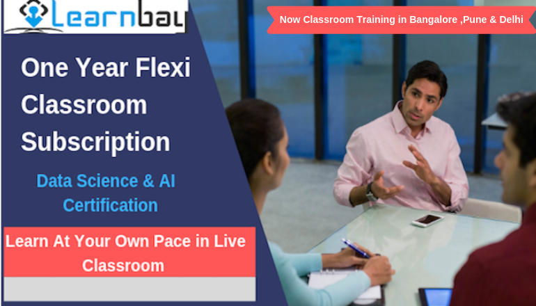 Data Science Training Courses in Bangalore.